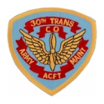 30th Transport Company Army ACFT Maint. Patch