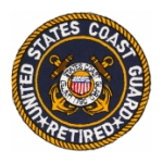 Coast Guard Retired Patch