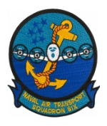 Navy Fleet Logistics Support Squadron Patch VR-6