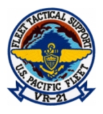 Navy Fleet Logistics Support Squadron Patch VR-21