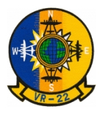 Navy Fleet Logistics Support Squadron Patch VR-22