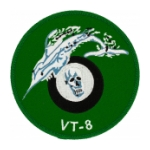 Navy Torpedo Bombing Squadron VT-8 Patch