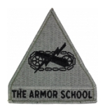 Armor School Patch Foliage Green (Velcro Backed)