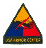 Armor Center W/ Tab Patch