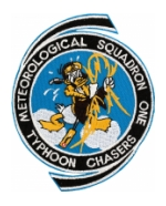 Navy Weather Reconnaissance Squadron Patches (VW)