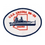 USS Arizona BB-39 Ship Patch
