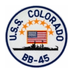 Navy Ship Patches
