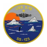 USS S-18 SS-123 Submarine Patch