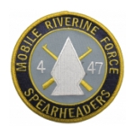 Navy Mobile River Patches