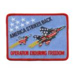 Operation Enduring Freedom Patch America Strikes Back