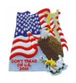 Dont tread on U.S. Patch
