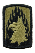 12th Aviation Brigade Scorpion / OCP Patch With Hook Fastener