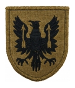 11th Aviation Brigade Scorpion / OCP Patch With Hook Fastener
