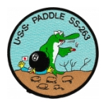 USS Paddle SS-263 Patch