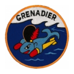 USS Grenadier SS-525 Patch
