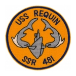 USS Requin SSR-481 Patch