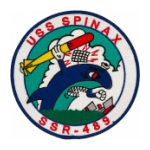 USS Spinax SSR-489 Patch