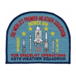 Air Force 45th Weather Squadron Patch