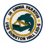 USS Gunston Hall LSD-5 Ship Patch