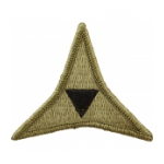 3rd Army Corps Scorpion / OCP Patch With Hook Fastener