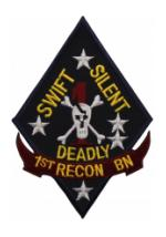 Marine Recon Patches