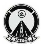 Marine Aviation Air Traffic Control Station MATCS-38 Patch