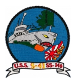 USS S-41 SS-146 Submarine Patch