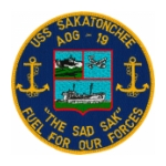Navy Gasoline Tanker Ship Patches (AOG)