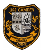 Navy Fast Combat Support Ship Patches (AOE)