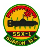 SSX-1 Subron 51X Patch