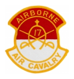 17th Air Cavalry 1st Squadron Airborne Patch