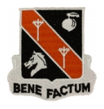 Signal Battalion Patches