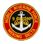 9th Military Police Company (Mobile Riverside Force Mekong Delta) Patch