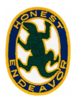 9th Military Police Company (Honest Endeavor) Patch