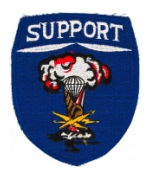 82nd Airborne Support Battalion Patch