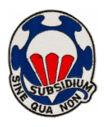 82nd Airborne Support Battalion Patch (Subsidium Sine Qua Non)