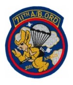 711th Airborne Ordnance Battalion (Joes Angels) Patch