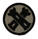 16th Engineer Brigade Patch Foliage Green (Velcro Backed)