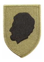 Illinois National Guard Headquarters Scorpion / OCP Patch With Hook Fastener