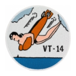 Navy Torpedo Bombing Squadron VT-14 Patch (WWII)