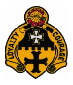 5th Cavalry Regiment Patch (Loyalty Courage)