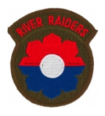 Army 9th Infantry Division River Raiders Patch