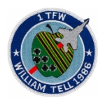 1st Tactical Fighter Wing Patch (William Tell 1986)