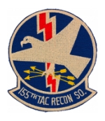 Air Force 155th Tactical Recon Squadron Patch