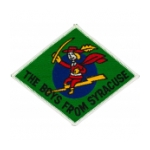 Air Force 138th Fighter Squadron Patch (The Boys From Syracuse)