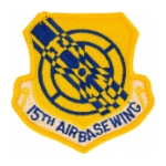 15th Airbase Wing Patch