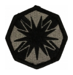 13th Support Brigade Patch Foliage Green (Velcro Backed)