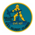 USS Gilbert Islands CVE-107 Patch (Gallant Gussi)