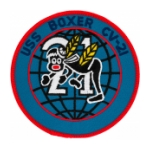 USS Boxer CV-21 Ship Patch