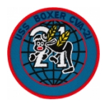 USS Boxer CVA-21 Ship Patch